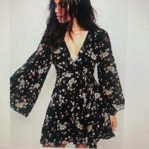 Free People Lilou Mini Dress EUC